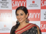 Unveiling of Savvy Cover With Vidya Balan