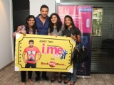 Bollywood actor John Abraham meets Bookmyshow contest winners of 'I ME AUR MAIN' in Mumbai