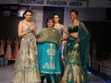 Sulakshana Monga at Rajasthan Fashion Week