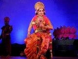 Hema Malini performs during the Dasara celebrations