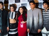Cast of Fugly at Lakme Fashion Week
