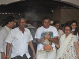 Veteran actress Nanda's funeral