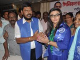 ​Rakhi Sawant joins Ramdas Athavle's Republican Party of India