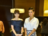 Neha Dhupia and Michelle Poonawala at 10th annual Gemfields and Nazrana Retail Jeweller Awards judging round