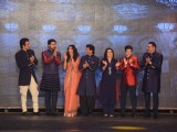 Manish Malhotra's Show with the cast of Happy New Year