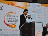 Abhishek Bachchan supports Asian Junior TT Championship