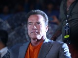 "Arnold Schwarzenegger at the Audio Launch of the Movie ""I"""