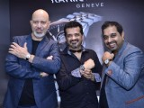Shankar Mahadevan, Ehsaan Noorani and Loy Mendosa at the Launch of Raymond Weil Store