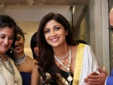Shilpa Shetty at the inauguration of a Jewelry showroom in New Delhi