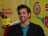 Hrithik Roshan at Radio Mirchi Studio
