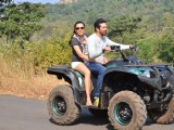 Salman Khan and his Family Enjoys ATV Ride at Panvel Farm House
