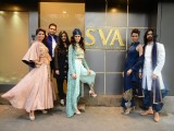 Sonam and Paras Modi's SVA store launch for Summer 2015