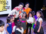 Karishma Kapoor Cheers 'Bright Start Fellowship International School' Kids