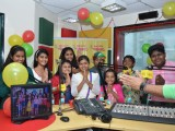 Indian Idol Junior Contestants at Radio Mirchi