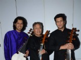 Amjad Ali Khan Shoots for Vande Mataram