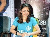 Soha Ali Khan at press conference of film '31st October'