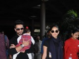 Shahid Kapoor and wife Mira dazzle at the Airport
