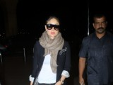 Kareena Kapoor, Kriti Sanon and Jackie Shroff at Airport