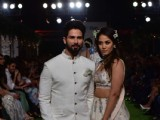 Dream Couple: Shahid - Mira sizzle at the ramp!