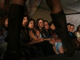 The annual fashion show presented by the graduating students of SNDT University in Mumbai