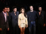 Ranbir Kapoor, Karan Johar, Shah Rukh Khan, Gauri Khan and Ranbir Kapoor walks on the ramp for the Karan Johar show