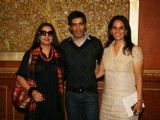 Shabana Azmi, Manish Malhotra and Anita Dongre judge Best Designer contest The Leela in Mumbai