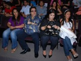 "Bappi Lahiri and Ruplai Ganguly at ""Gandhi Ne kaha tha"" play"