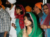 Priyanka Chopra at father Ashok Chopra''s kirtan event, Chakala in Mumbai