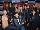 Models at the launch of the Loreal Autumn Winter Color Collection in Grand Hyatt