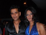 Model Brinda Parekh''s with her friend on her birthday bash at Vie Lounge