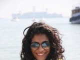 Anushka Manchanda in a bikini at Indian Navy Week open swimming championships at Colaba