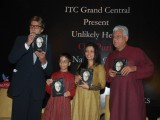 "Unveiling of Om Puri''s book ""Unlikely Hero"""
