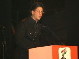 "Shahrukh Khan at a programme ""Nantion''s Solidarity Against Terror"""