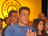 Salman Khan at Gold''s Gym Mega Spinnathon 2009