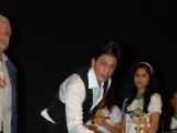 Shahrukh Khan during the inauguration of photo exhibition ''Earth From Above'' in Mumbai