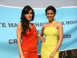 Neha Dhupia & Mugdha Godse at a Gillette event