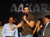 John Abraham at MMK College Festival Aakarshan at Khar Gymkhana Ground