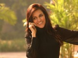 Neha Dhupia in New Delhi to promote her new film ''Raat Gayi Baat Gayi''