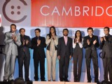 Hide N seek star cast on the ramp for Cambridge shirts anniversary show at Blue Sea