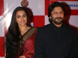 Arshad Warsi and Vidya Balan during a promotional event for film Ishqiya in New Delhi