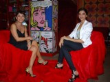 Deepika Padukone with Koel Purie for Show on Kouch with Koel at Bandra