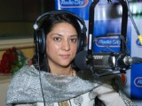 Priya Dutt at Radio City to campaign for no vehicle day