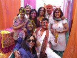 Colors channel holi bash Juhu Hotel