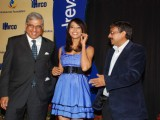 Bipasha Basu unveils Vandrevala Foundation Race Trophy at Mahalaxmi Race Course