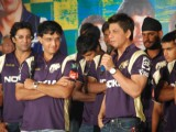 SRK ties up with XXX energy drink for Kolkatta Knight Riders and jersey launch