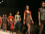 Designers Ankita and Anjana Bhargav creation at the Wills Lifestyle India Fashion Week