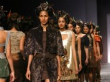 Designer Nandita Basu's creations at the Wills Lifestyle India Fashion Week-2010