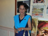 Tanuja on day 2 of Dignitiy Film Festival at Ravindra Natya Mandir