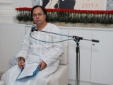Farooq Shaikh at Zoya for Poetry reading on the Occasion of their 1st Anniversary at Warden Road