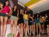 Models at Chennai Fashion Week auditions at Amara